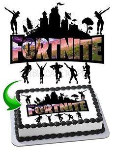 Fortnite Cake Topper Edible Cake Topper Icing Sugar  fortnite   fortnitebattleroyale  live 12th Birthday 48fe1ac8a05d