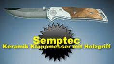 Semptec Keramik Taschenmesser mit Holzgriff  mit 7 cm Keramik Klinge mit Gürtelclip die Keramik Klinge ist 100% rostfrei http://www.mychannel2016hd.de
