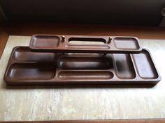 Vintage Swank Mid Century Modern Dresser Valet