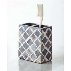Shop Marrakesh Toothbrush Holder from Kassatex at Horchow, where you'll find new lower shipping on hundreds of home furnishings and gifts.