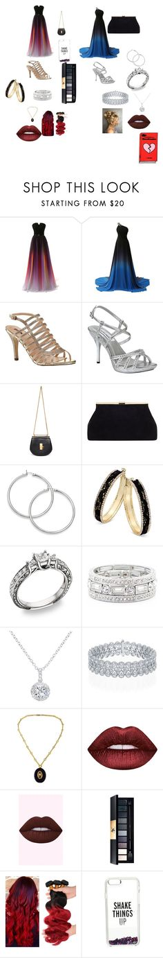 """PROM"" by puppy-love8569 ❤ liked on Polyvore featuring Pink Paradox London, Dyeables, Chloé, Thalia Sodi, Sole Society, EWA, Lime Crime and Kate Spade"