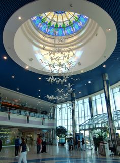 The unmatchable Interior of the wonderful Marina Mall, Abu Dhabi