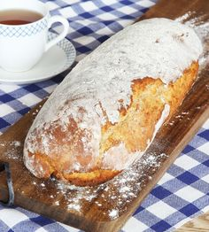 Swedish Bread, Challah, Bread Baking, Bread Recipes, Banana Bread, French Toast, Brunch, Rolls, Food And Drink