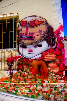 Street Art in Valparaiso, Chile http://www.fleur-styling.com/#!fleur-styling-men/cyoq