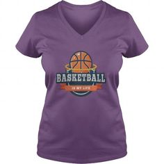 I Love BASKETBALL IS MY LIFE T-Shirts