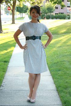 Dream Catcher Baby//: Ten Minute Boxy Dress Tutorial
