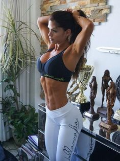 A picture of Michelle Lewin. This site is a community effort to recognize the hard work of female athletes, fitness models, and bodybuilders. Fitness Blogs, Fitness Models, Fitness Motivation, Love Fitness, Female Fitness, Fitness Style, Men's Fitness, Michelle Lewin, Bodybuilding Training