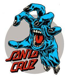 Personal Project: Santa Cruz Skateboards on Behance