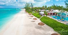 The Best Beach in the world. Grace Bay, Providenciales, Turks & Caicos Islands