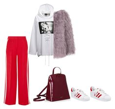 """Без названия #9"" by mpimchenkova on Polyvore featuring мода, Fendi и adidas"