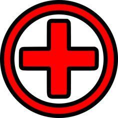 clip art of a medical symbol red cross polyvore tats pinterest rh pinterest com