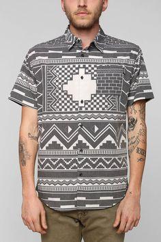 Insight Benga Button-Down Shirt - Urban Outfitters