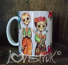 Diego & Frida Mug by LovStruk on Etsy