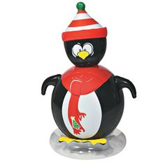 Holiday Inflatables Floating Santa Claus For Your