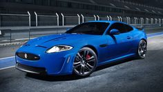 """I love everything about this jag, except the """"blue"""" part. Jags aren't supposed to be blue."""