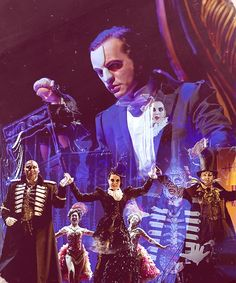 Love Never Dies. The London costumes looked great. I do not like how they changed the trio (Fleck, Gangle and Squelch) for Australia.