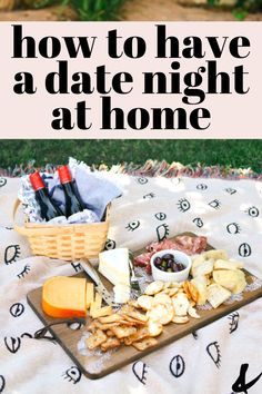 It's easy to have the perfect date night at home! Grab a little wine and cheese and hit the backyard for a picnic. Click through to get all the details for setting up a successful night at home with your partner even if the kids are right inside. At Home Dates, Cute Date Ideas, At Home Date Nights, Romantic Surprise, Picnic Date, Like A Mom, Night Couple, Dating Divas, Perfect Date