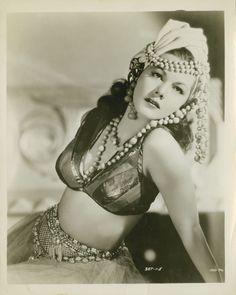 Maria Montez in Arabian Nights directed by John Rawlins, 1942