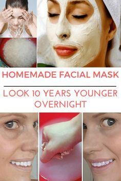 Japanese homemade facial mask