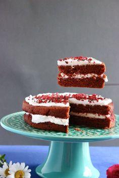 Gluten-Free Vegan Red Velvet Cake
