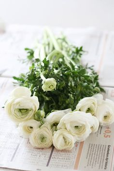 wrap a bunch of handpicked flowers in newspaper or brown paper as a present