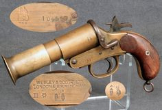 Very pistol (flare gun/signal flare) as used by Frederick Bishop (battlefield 1)