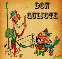 Don Quijote and Sancho by mr-von-ungarn