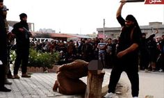 ISIS publicly behead a man they accused of being a 'sorcerer' #DailyMail