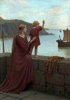 Edmund Blair Leighton - Farewell