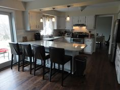 Before and After small u-shaped kitchen remodel \ | office designs .... lovable on a budget kitchen ideas kitchen design ...