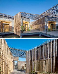 Floating Bamboo House