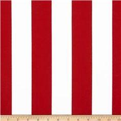 Premier Prints Indoor/Outdoor Premier Stripe Rojo