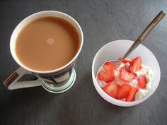 A SUMMER BREAKFAST ON THE 5:2 FASTING DIET