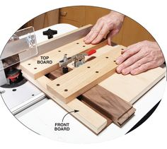 17 Router Tips Flattening Wide Boards A huge, wide board makes a stunning tabletop. If it won't fit through your planer, flattening that board can be a lot of hard work. You could use a belt sander, but it's much easier to use your router. To get started, you'll need a large, flat surface, such as a big workbench or a hollow-core door. Lay the board on the bench and …