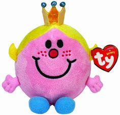 Ty UK 5-inch Little Miss Princess Beanie