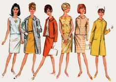 1960s OverBlouse and Slim Skirt Coat and Cropped Jacket Simplicity 6882 Vintage 60s Madmen Sewing Patern Size 14 Bust 34 by sandritocat on Etsy
