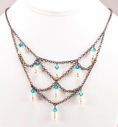 This could be cool, to just make a segment of this necklace