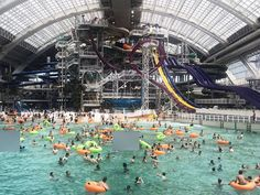 World Waterpark at West Edmonton Mall (Alberta) Travel With Kids, Family Travel, Natural Resources, Canada Travel, Dream Vacations, Patriots, Trip Planning, Mall, Tuesday