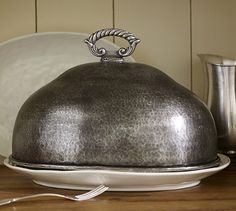 Antique Turkey Cloche - I have no idea where to pin this so for now, it's kitchen.