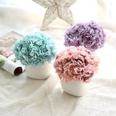 6 branches artificial flower carnation bouquet for day gift diy wedding home decorative floristry supplies