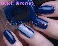 Stamper- stamp decal tutorial | ChitChatNails - Nail Art