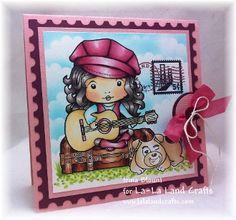 Mod Marci Digi Scene 1 - DIGI Stamp