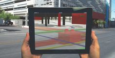 In one of the largest augmented reality applications to date, VTN Consulting worked with the city of Las Vegas to build a 3D BIM model of the above- and below-ground infrastructure in the core downtown area. The firm used Autodesks InfraWorks software to model the infrastructure, and is using the free InfraWorks tablet app to view BIM files in the field. Photo: VTN Consulting