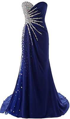 Royal Blue Long Chiffon Prom Dress Strapless Crystals Women Evening Dress 2019 sold by Onmyprom. Shop more products from Onmyprom on Storenvy, the home of independent small businesses all over the world. Strapless Prom Dresses, Pretty Prom Dresses, Prom Dresses Blue, Event Dresses, Homecoming Dresses, Cute Dresses, Beautiful Dresses, Formal Dresses, Bridesmaid Gowns