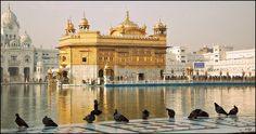 The Harmandir Sahib also Golden Temple, India