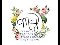 MAY 8 - 15, 2016 TAROT ORACLE WEEKLY READINGS