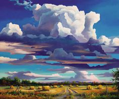 Saskatchewan Art - Late Summer Jonn Einerssen