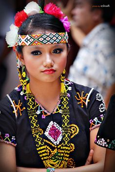 Kalimaran Festival, a traditional celebration celebrates by the ethnic group of Sabah called Murut.