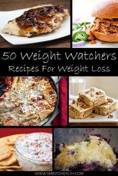 50 Weight Watchers Recipes For Weight Loss