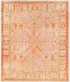 Antique Turkish Oushak Rug Size: 127 x 150 in. x 381 cm. Tabriz Rug, Oushak Rugs, Contemporary Decorative Art, Asian Artwork, Interior Rugs, Interior Design, Traditional Rugs, Turkish Kilim Rugs, Modern Rugs